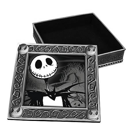 Nightmare Before Christmas Smiling Jack Jewelry Box - NECA - Nightmare ...