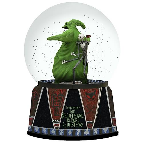 Nightmare Before Christmas Jack and Oogie Boogie Water Ball