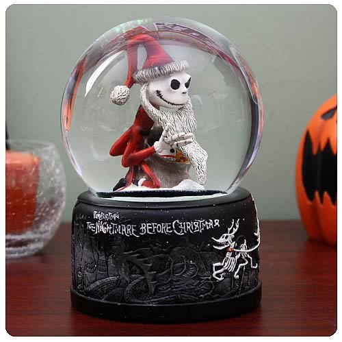 Nightmare Before Christmas Santa Jack Water Ball