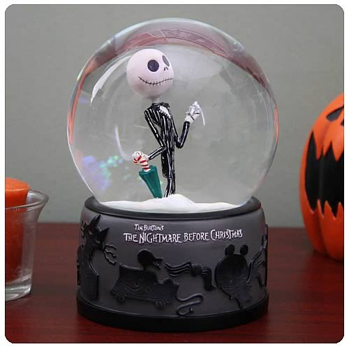 Nightmare Before Christmas Snowflake Jack Water Ball
