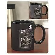 Nightmare Before Christmas Jack Pattern Mug