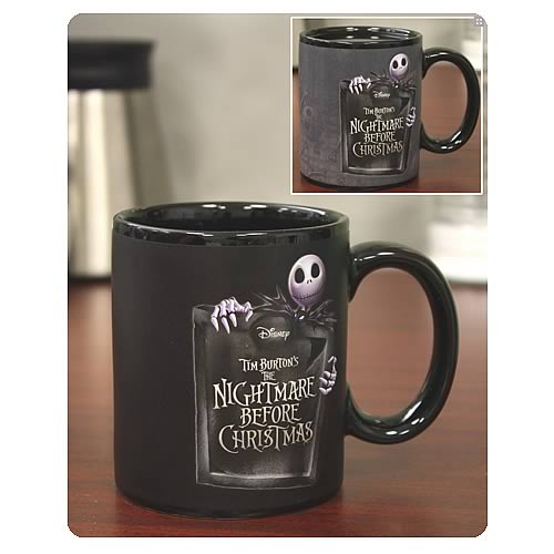 Nightmare Before Christmas Jack Pattern Mug