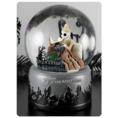 Nightmare Before Christmas Pajama Jack Water Globe
