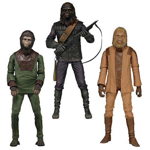 Planet of the Apes Series 1 Action Figure Set