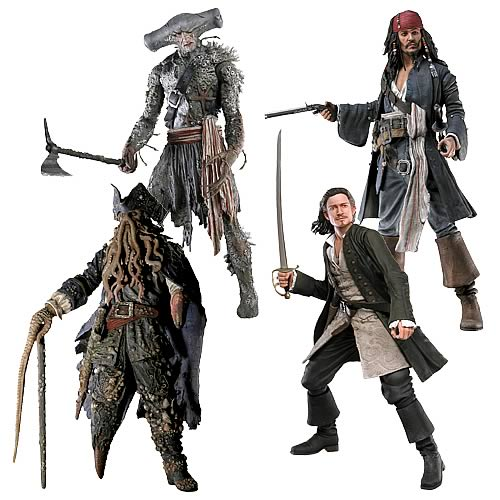 Pirates Of The Caribbean Toys : Pirates inch figures wave neca of the