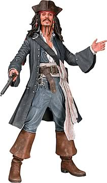 Captain Jack Sparrow Talking Smiling 18-inch Action Figure