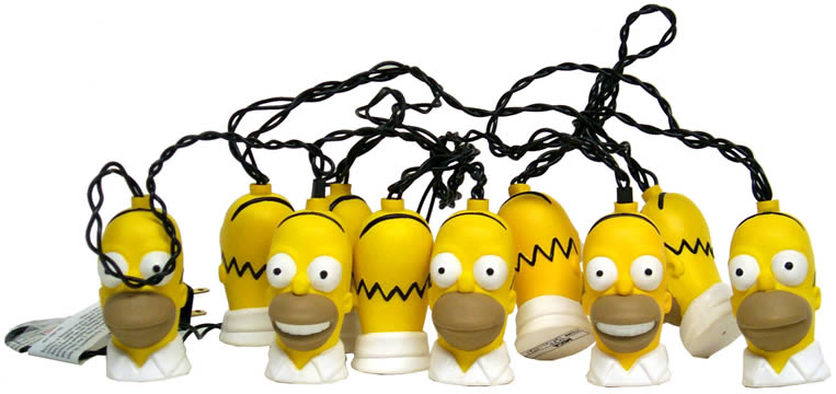 Homer Simpson Light Set