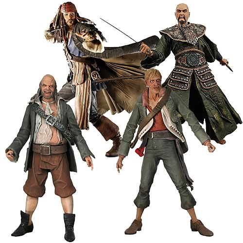 Pirates Of The Caribbean Toys : Pirates of the caribbean series action figure case