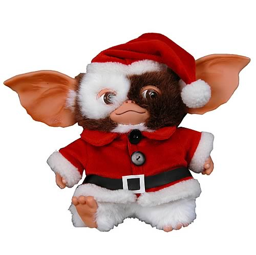 Gremlins Santa Gizmo Singing Plush