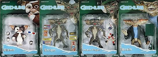 Gremlins Figures Series 1 Case
