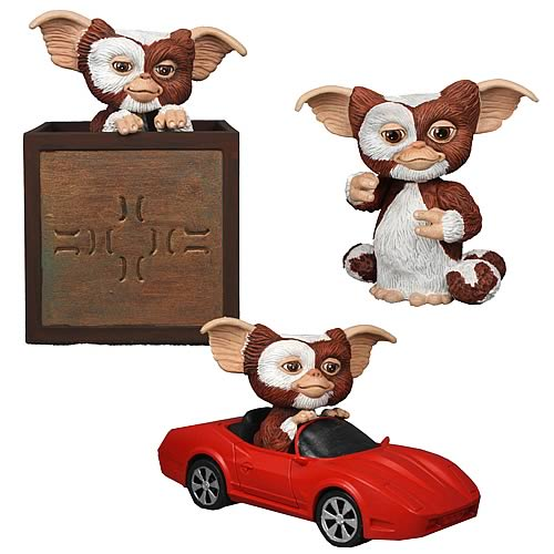 Gremlins Go Gizmo Go Motorized Action Figure Case