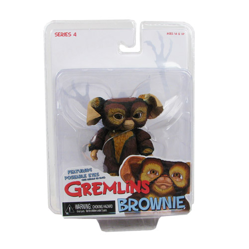 Gremlins Mogwai Series 4 Brownie Action Figure