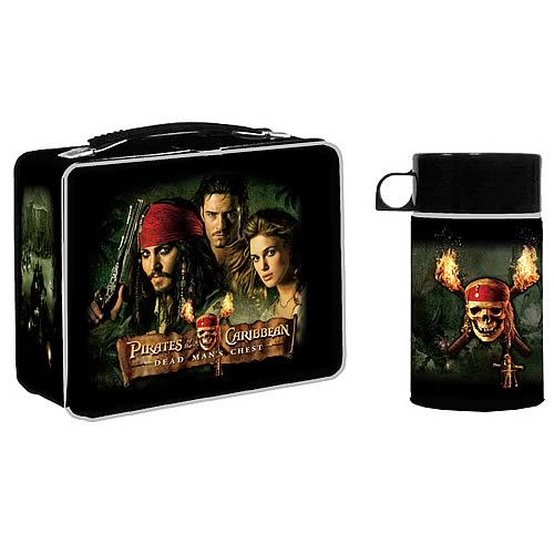 Pirates of the Caribbean Dead Man's Chest Lunch Box