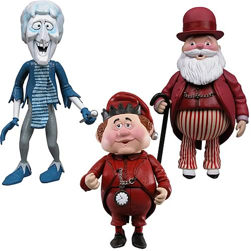 Year Without a Santa Claus Snow Miser Action Figures