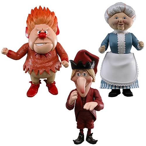Year Without a Santa Claus Heat Miser Deluxe Action Figures