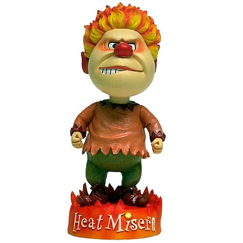 Year Without a Santa Claus Heat Miser Bobble Head