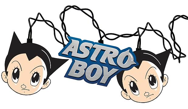 Astro Boy Holiday Lights