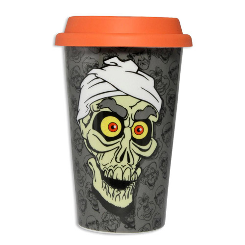 Jeff Dunham Achmed the Dead Terrorist Ceramic Travel Mug