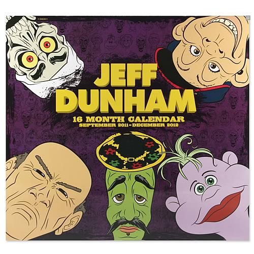 Jeff Dunham 2012 16 Month Wall Calendar