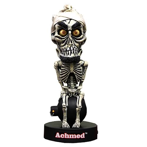 Jeff Dunham Achmed Talking Bobble Head