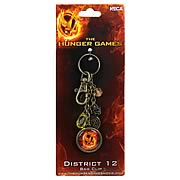 Hunger Games Movie District 12 Clip-On Key Chain