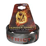 Hunger Games Movie District 12 Tribute Rubber Bracelet