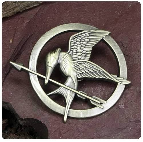 Hunger Games Movie Mockingjay Prop Replica Pin
