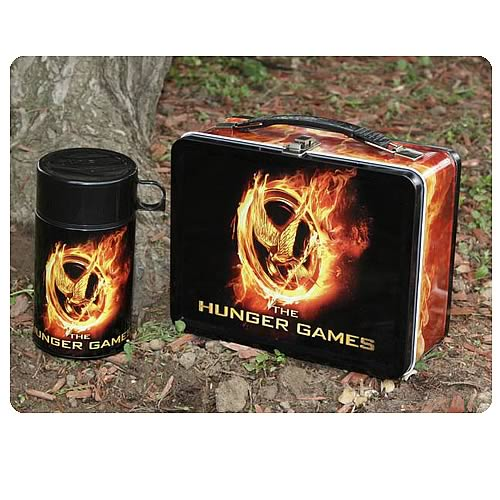 Hunger Games Movie Mockingjay Lunch Box With Drinking Cup