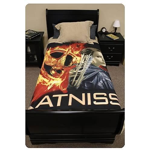 Hunger Games Movie Katniss Everdeen Polar Fleece Bed Throw