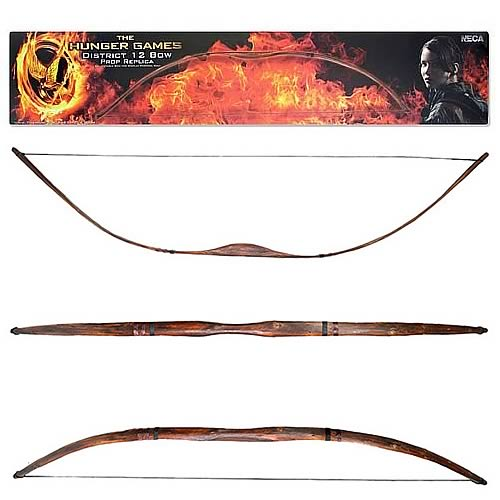 Hunger Games Movie District 12 Prop Replica Bow
