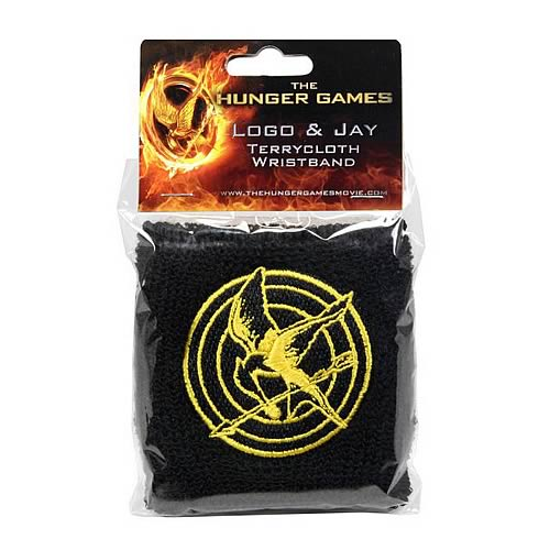Hunger Games Movie Logo and Mockingjay Wristband