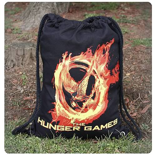 Hunger Games Movie Burning Mockingjay Sack Bag