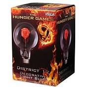 Hunger Games Movie District 12 Decorative Light Bulb