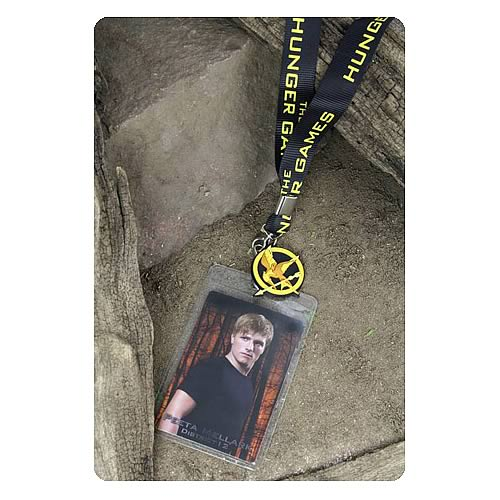 Hunger Games Movie Peeta Mellark Lanyard