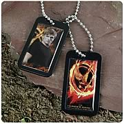 Hunger Games Movie Peeta Dog Tags Necklace