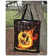 Hunger Games Movie Burning Mockingjay Reusable Shopping Bag