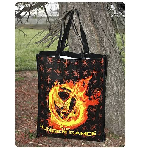 Hunger Games Movie Burning Mockingjay Reusable Shopping Bag