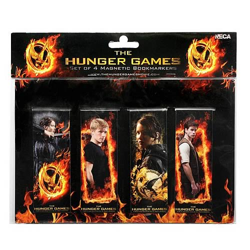 Hunger Games Movie Magnetic Bookmark Set