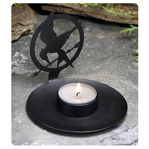 Hunger Games Movie Mockingjay Shadow Tealight Candle Holder