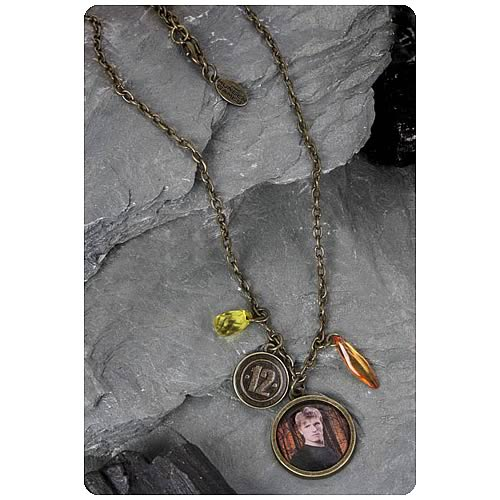 Hunger Games Movie Peeta District 12 Single Chain Necklace