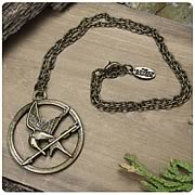 Hunger Games Movie Mockingjay Single Chain Necklace