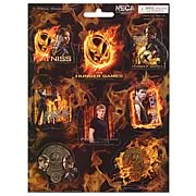 Hunger Games Movie 8-Piece Propaganda Poster Magnet Sheet