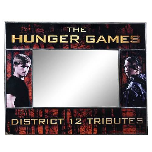 Hunger Games Movie District 12 Frame and Mirror