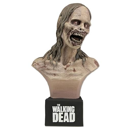 Walking Dead Bicycle Girl Zombie Mini-Bust