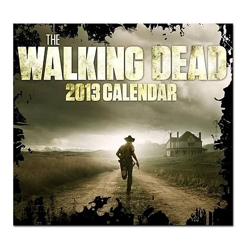 The Walking Dead 2013 16 Month Wall Calendar