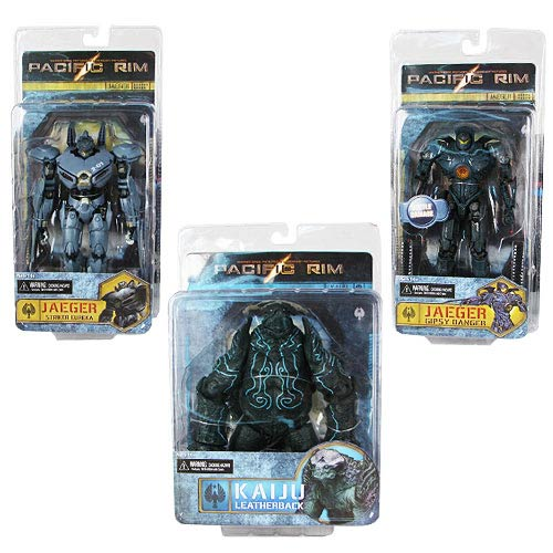 Pacific Rim 7-Inch Series 2 Action Figure Set