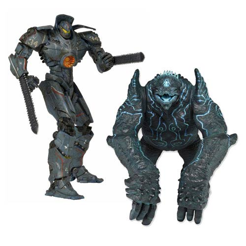 Pacific Rim Damaged Gipsy Danger and Leatherback Figure Pack