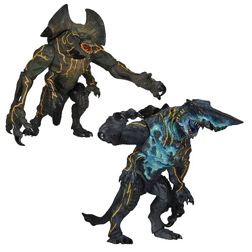 Pacific Rim Kaiju 7-Inch Series 3 Action Figure Set