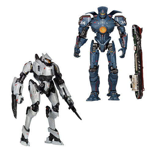 Pacific Rim Jaeger Series 4 Deluxe 7-Inch Action Figure Set