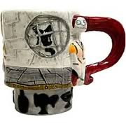 Mugs > Nightmare Before Christmas - NECA brings you this customized figural coffee mug of Sally from Tim Burtons The Nightmare Before Christmas.  Stands approximately 4 inches tall.: Sizes